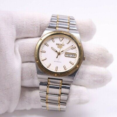 $ CDN84.12 • Buy SEIKO 5 7S26-0100 AUTOMATIC STAINLESS Mens Watch Japan