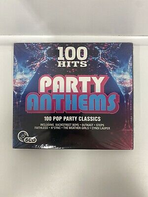 Various Artists - 100 Hits: Party Anthems New Cd • 3.99£