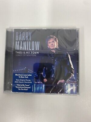 BARRY MANILOW This Is My Town -2017 -10-track CD Album NEW/SEALED • 2.40£