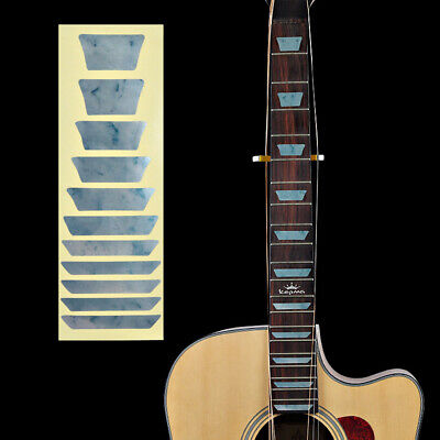 Fretboard Ultra Thin Electric Inlay Guitar Bass Decal Stickers Acoustic • 3.34£
