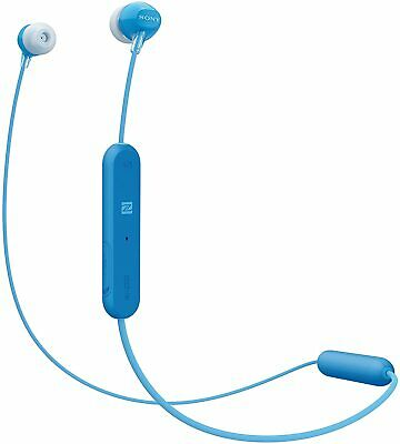 NEW Sony WI-C300 Wireless In-Ear Headphones With Bluetooth/NFC - Blue • 22.99£