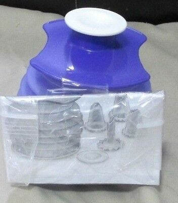 New Tupperware Cake And Egg Decorator With 5 Nozzles Store Inside Container • 13.58£