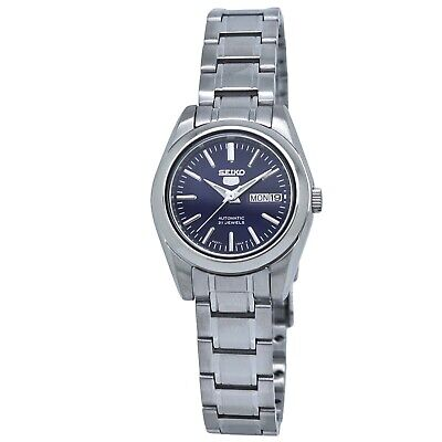 $ CDN107.70 • Buy Seiko 5 Automatic Blue Dial Ladies Watch SYMK15