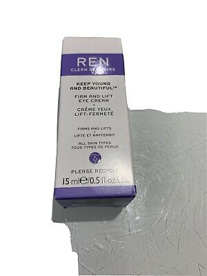 Ren Keep Young And Beautiful Firm And Lift Eye Cream 15ml • 11£