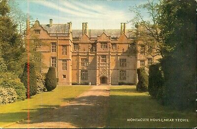 Somerset Rp Postcard Montacute House Near Yeovil • 2.99£