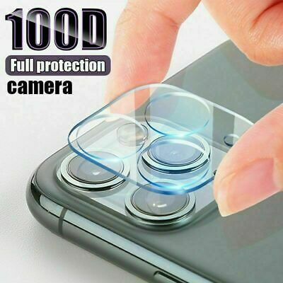 Rear Camera Lens Cover Tempered Glass Protector For IPhone 12 & 11 Models • 3.45£