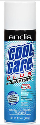 Andis Cool Care Plus Cleaner Spray For Clipper Blades Trimmer 5 In 1 Coolant • 9.39£