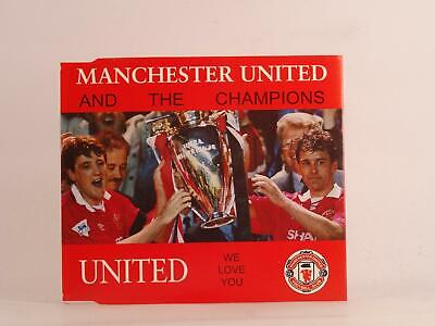 MANCHESTER UNITED AND THE CHAMPIONS WE LOVE YOU (K26) 3 Track CD Single Picture • 2.46£