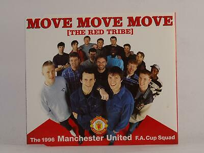THE 1996 MANCHESTER UNITED MOVE MOVE MOVE (I16) 3 Track CD Single Picture Sleeve • 2.46£