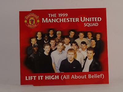 THE 1999 MANCHESTER UNITED SQUAD LIFT IT HIGH (I54) 3 Track CD Single Picture Sl • 2.46£