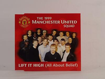 THE 1999 MANCHESTER UNITED SQUAD LIFT IT HIGH (H73) 3 Track CD Single Picture Sl • 2.46£