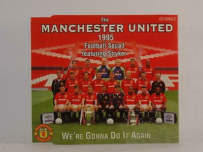 THE MANCHESTER UNITED WE'RE GONNA DO IT AGAIN (H29) 3 Track CD Single Picture Sl • 2.46£