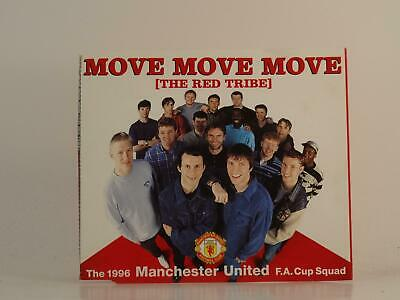 THE RED TRIBE - MANCHESTER UNITED F.A. CUP SQUAD MOVE MOVE MOVE 3 Track CD Sing • 2.47£