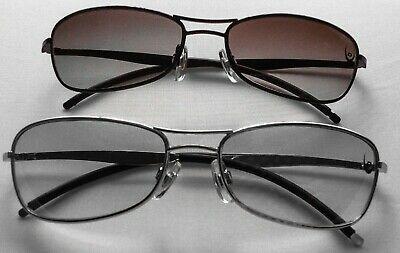 Women's Men's Unisex Vintage Retro Dunlop Sunglasses Black Silver Free Uk P&p Bn • 4.50£