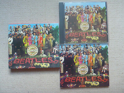 £4.20 • Buy The Beatles - Sgt. Pepper's Lonely Hearts Club Band CD Booklet Slipcase