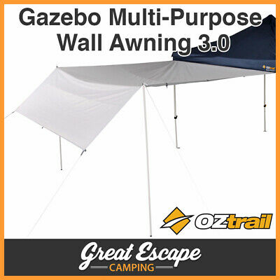 AU59.90 • Buy OZtrail Gazebo Monsoon Rainfly 3.0 - Oztrail Multi-Purpose Wall Awning For 3m