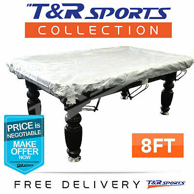 AU36.99 • Buy 15% OFF 8FT FITTED HEAVY DUTY POOL TABLE COVER Water Resistance ELASTIC CORNERS