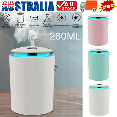 AU13.57 • Buy Portable Air Humidifier Aroma Aromatherapy Ultrasonic USB Diffuser Oil Purifier