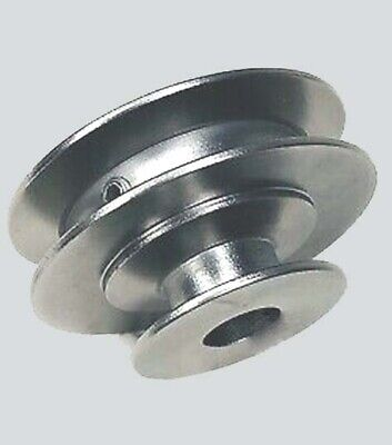 AU45.04 • Buy 2-Step V-Belt Pulley ( 2  & 3  ) ~ ( 1/2  Bore ) ~ Use Sheave With A Belt Or 4L
