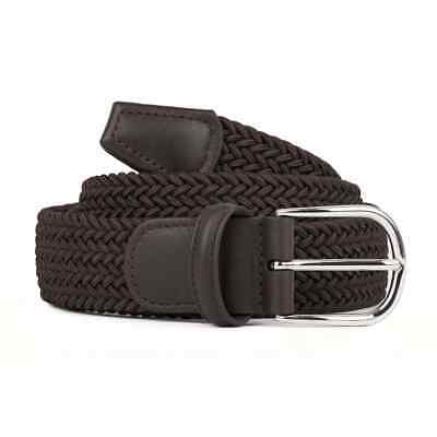 Andersons B0667 Woven Textile Belt Dark Brown - Black Friday Event • 69.70£