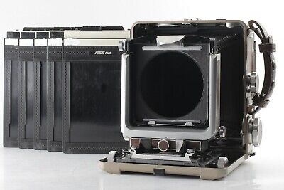 【N.MINT】 WISTA 45 4x5 Large Format Camera W/ Cut Film Holder X5 From JAPAN #8003 • 486.51£