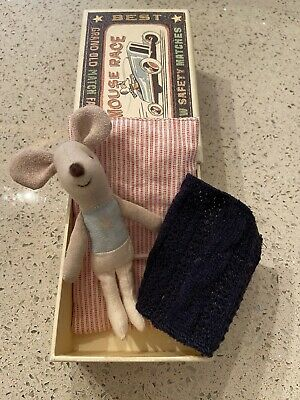 Maileg Mouse With Box And Bedding. • 12.99£