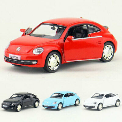 1:36 VW Beetle 2012 Model Car Alloy Diecast Toy Vehicle Pull Back Kids Gift • 13.34£