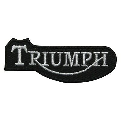 £2.29 • Buy TRIUMPH NAME ,Heavy Bikes,Embroidered Patches,Iron On Patches,Sew On Badges