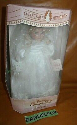 $ CDN37.58 • Buy Collectible Memories Porcelain Doll Bride Nancy In Box With COA And Stand 17