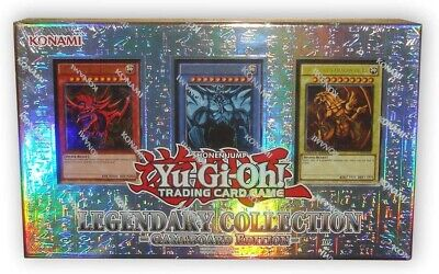 Yugioh Legendary Collection 1 Gameboard Edition Sealed With 3 Original God Cards • 78.95£