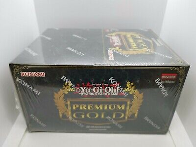 Yugioh - Premium Gold 1 - PGLD - Booster Box CASE - Factory Sealed - 1st Edition • 299.95£