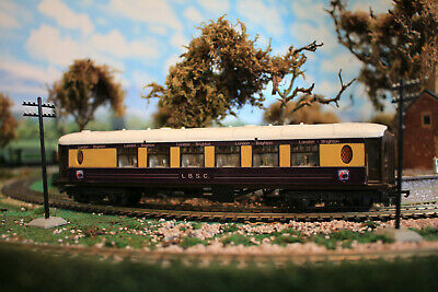 LBSC COACH  X4 SIDE & TOP PANELS FOR HORNBY TRIANG PULLMAN 00 GAUGE LBSC. KIT. • 17.50£