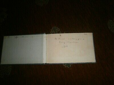 £49.99 • Buy Vintage Autograph Book  Circa Early 1900  Various Signatures Mainly Unidentified