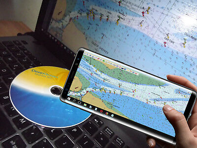 DeepOcean Marine GPS Charts Plotter And Essential Software Tools Suite  • 19.50£