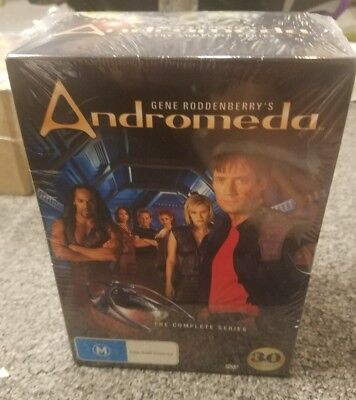 Andromeda The Complete Series Box Set (30 Discs) DVD PAL REGION 4 R4 • 43.04£