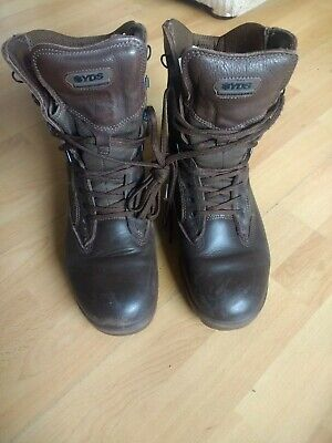 British Army Surplus Leather Army Combat Boot - UK Size 9  • 28£
