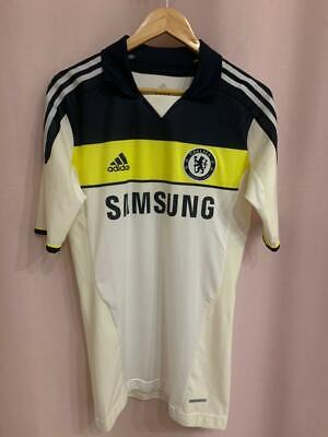 Chelsea London 2011/2012 Player Issue Third Football Shirt Jersey Size 8 Adidas • 99.99£