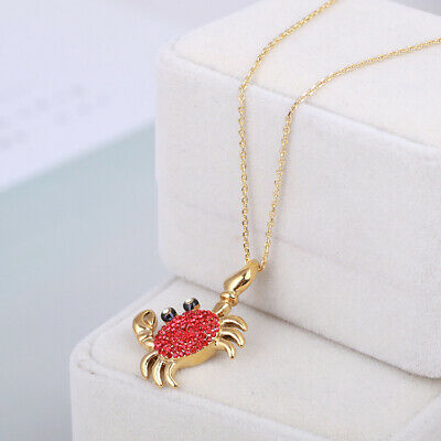 $ CDN13.05 • Buy Kate Spade Red Crab Necklace New