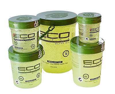 £6.89 • Buy ECO Styler Olive Oil Styling Hair Gel No Tack Or Flakes Various Size To Choose