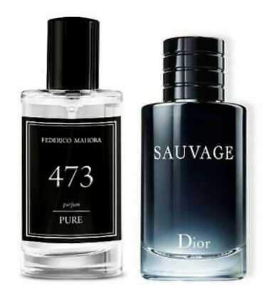 FM 473 Pure Collection Federico Mahora Mens Perfume 50ml Parfum Gift  • 15.99£