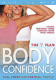 Y Plan - Body Confidence (DVD, 2010) Real Exercises For Real People YMCA • 2.75£