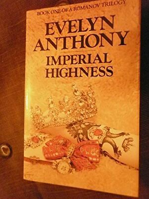 Anthony, Evelyn, Imperial Highness, Like New, Hardcover • 10.87£