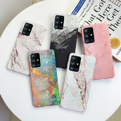 $ CDN3.81 • Buy For Samsung Galaxy S20 Ultra Note 10 S10 Plus S9 S8 Marble Hard Phone Case Cover