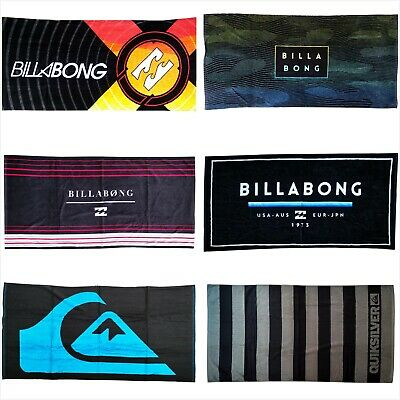 AU38.99 • Buy Billabong 100% Cotton Velour Extra Large Beach Towel Camping Swim Travel Towel