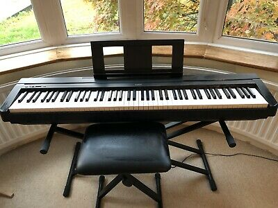 Yamaha P45 Digital Piano - 88 Weighted Keys Plus Stand And Stool • 310£