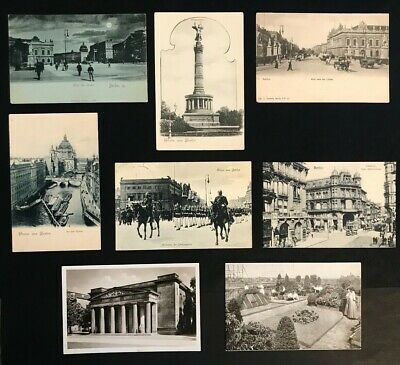 German Postcards: BERLIN Pre & Post WWI And Up To WWII • 1.10£