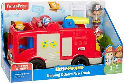 £22.95 • Buy Fisher Price Little People Helping Others Fire Truck Engine