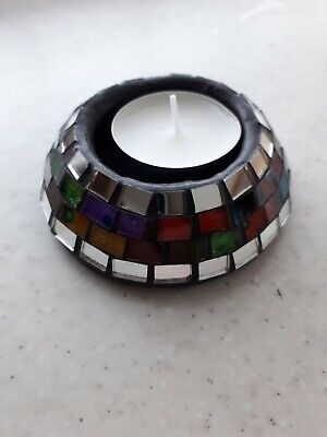 £5.50 • Buy Moroccan Mosaic Candle Holder