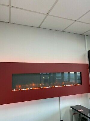 'gazco Radiance' Shop Seconds Ex-display Electric Hang On Wall Fire With Fascia • 550£