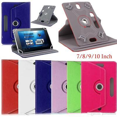Universal 360 Leather Stand Case Cover For ASUS ACER DELL GOOGLE 7  10  Tablet • 4.99£